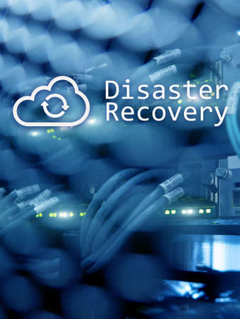 Cloud Server Data Loss Prevention Disaster Recovery concept