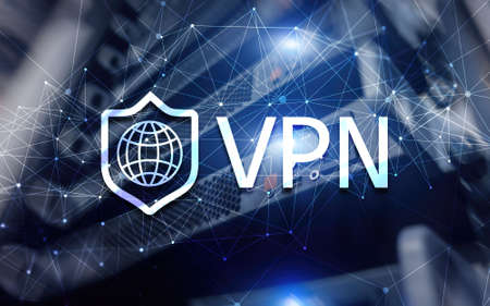 Virtual private network VPN. New technology concept 2020