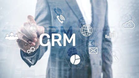 Business Customer CRM Management Analysis Service Concept. Relationship Management.