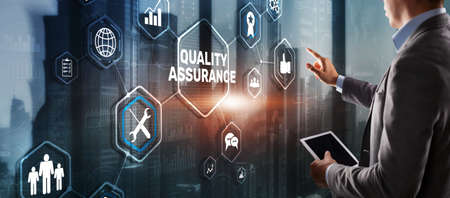 Quality Assurance ISO DIN Service Guarantee Standard Retail Concept