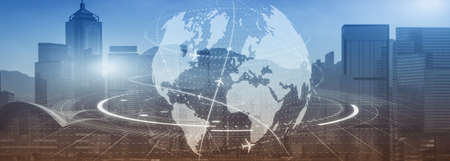 Globe Earth Flight Communication internation business global