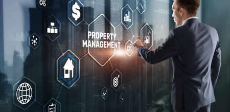 Property management. Maintenance and oversight of real estate and physical property