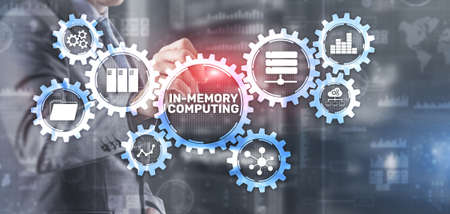 In Memory Computing high performance distributed systems Reklamní fotografie