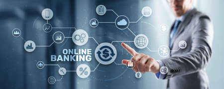 Online banking and payments. Digital marketing