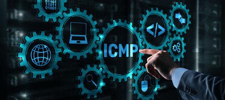 The Internet Control Message Protocol ICMP 2021 Stockfoto