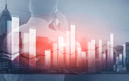 Universal background for a stock market presentation
