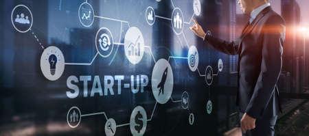 Start Up Mission Business Launch Team Success Concept 2022