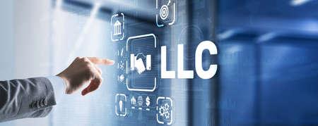 LLC. Limited Liability Company. Business Technology Internet