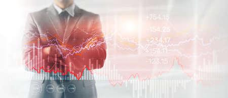 Business Graph Stock Market chart