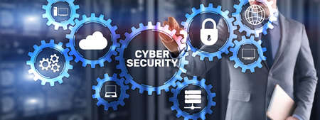 Cyber Security. Data Protection Network Privacy Concept