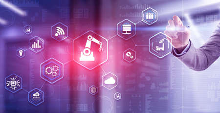 RPA Robotic Process Automation system Artificial intelligence 版權商用圖片