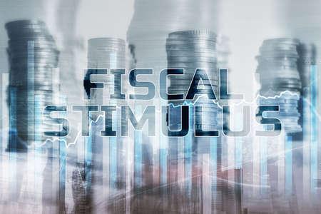 Fiscal Stimulus World Economics concept 版權商用圖片