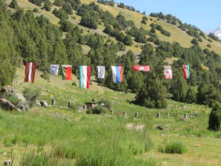 Mountains. Pamir. Tajikistan