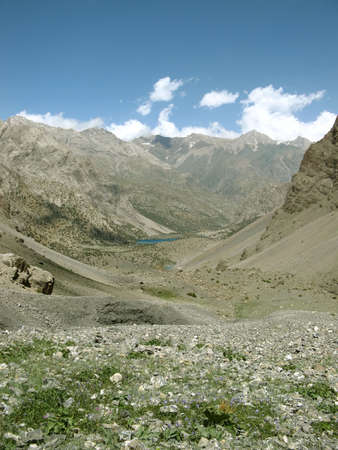 Mountains. Expedition on South-Weast Pamir.