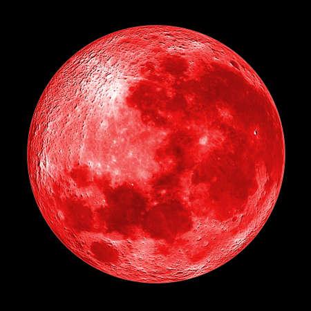 night moon: Luna Roja