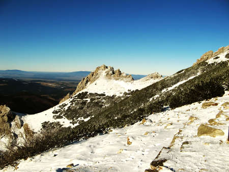 winter in mountains