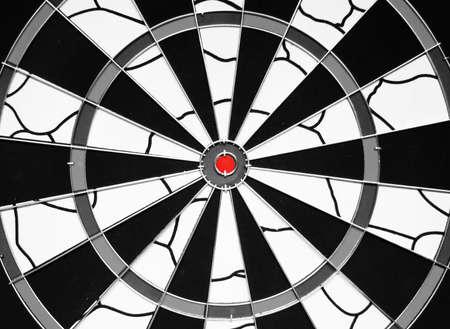 Darts Board Stock Photo