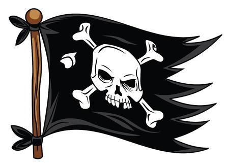 Piratenvlag Stockfoto - 22698626