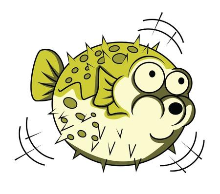 puffer: puffer fish