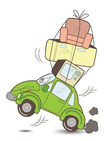 move car Vector