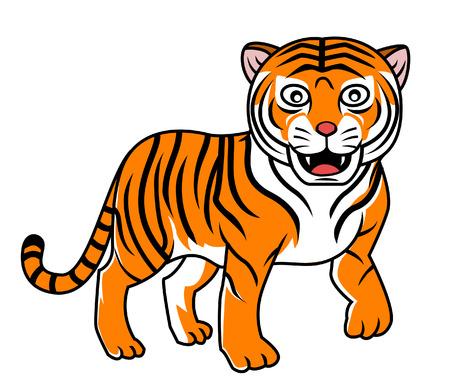 white tiger: tiger