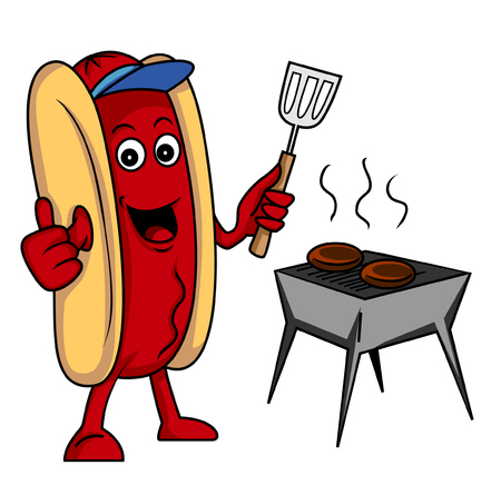 sausage party Vector
