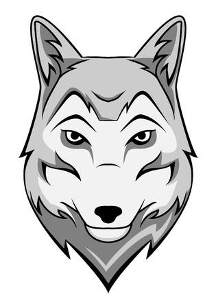 wolf  イラスト・ベクター素材