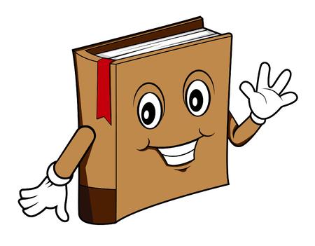 Dibujos animados libro
