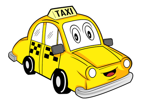 Caricatura de taxi