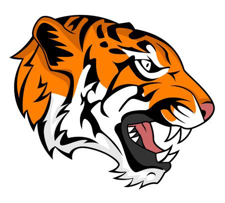 roaring tiger: tiger roar