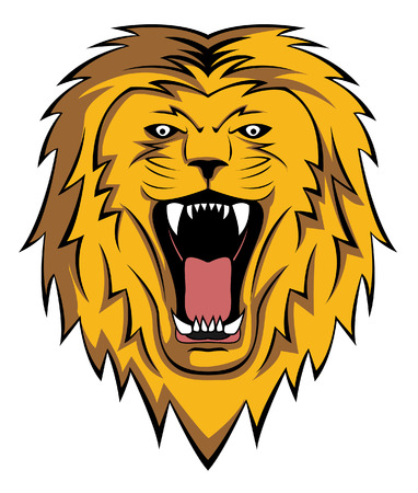 lion roar Vector