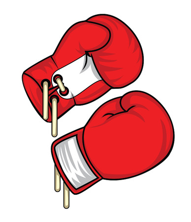 gloves: boxing glove Illustration