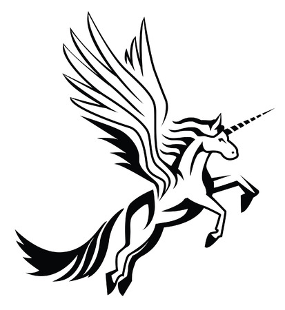 fable: unicorn Illustration