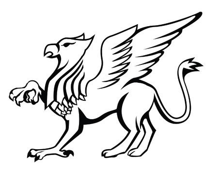 Griffin Stock Illustratie