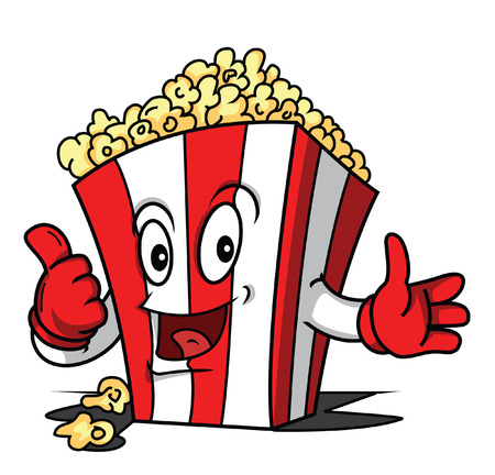 Popcorn Stockfoto - 24115896