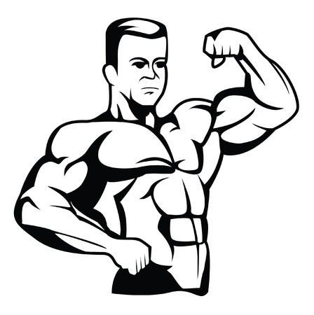 human arms: body builder