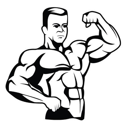 arm muskeln: Bodybuilder