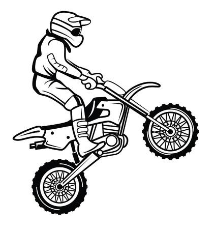 dirt bike: moto cross