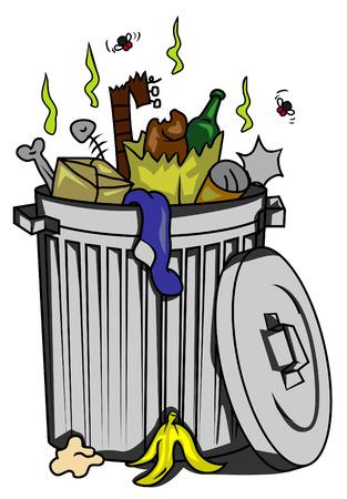 basura: bote de basura