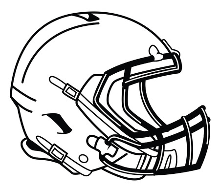 football helmet: helmet football