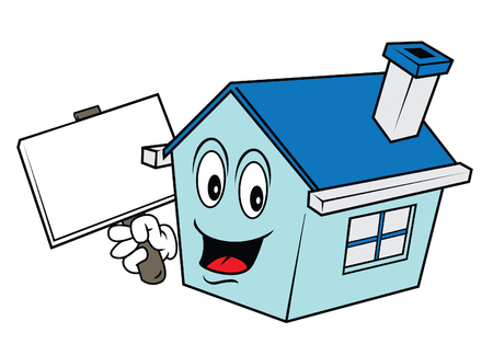 house cartoon Illustration