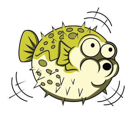 puffer fish: blow fish
