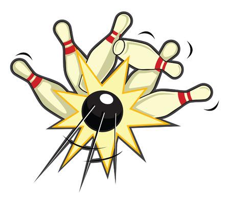 lanes: bowling pin