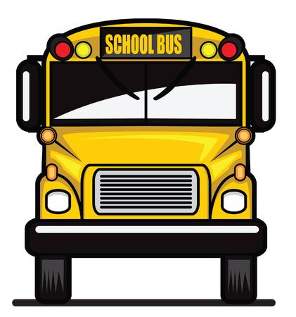 스쿨 버스 일러스트