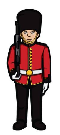 bearskin: london army