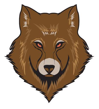 Wolf Vector Illustration Illustration