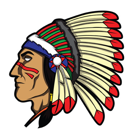 chief: Apache Head