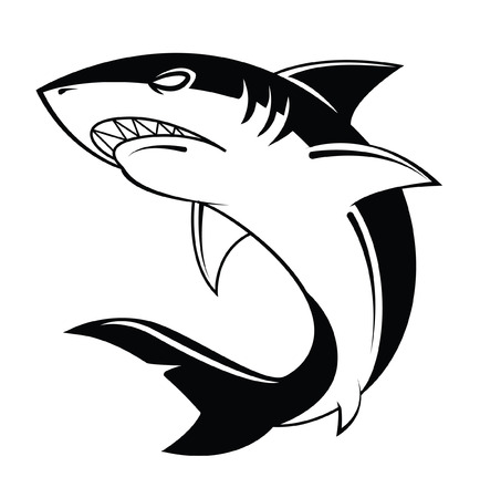 Shark Vector Illustration Stock fotó - 31836866