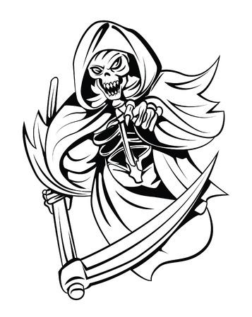 Grim Reaper Vectores