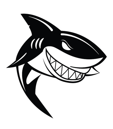 Shark Vector Illustration Banque d'images - 31892088